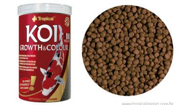 Koi growth & colour pellet M