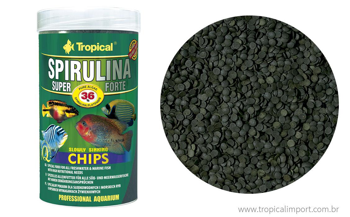 Super Spirulina Forte Chips