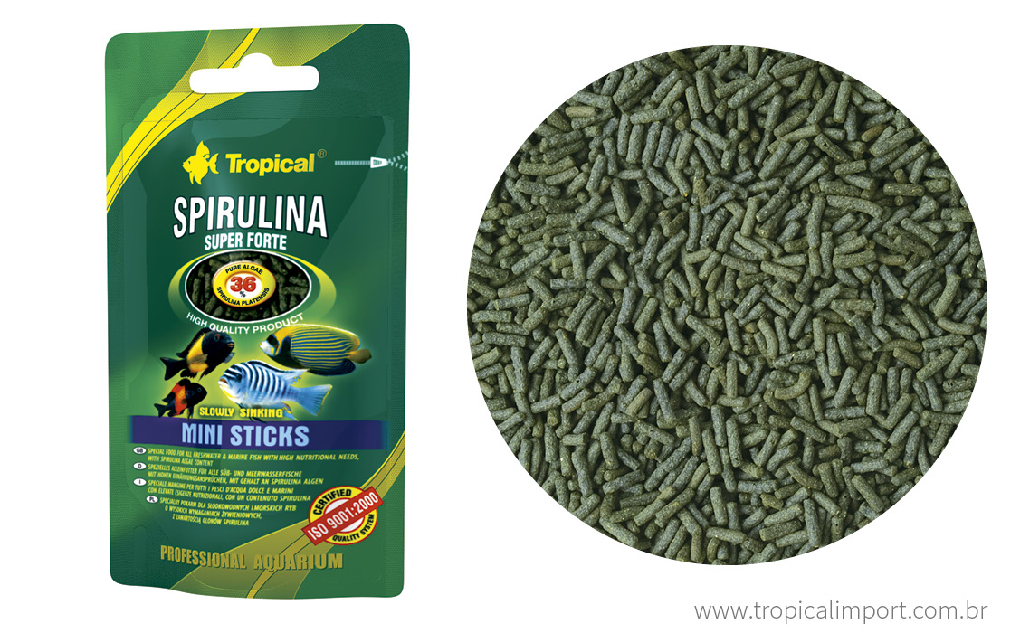 Super Spirulina forte Mini Sticks