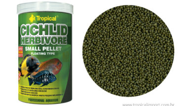 Cichlid Herbivore small pellet