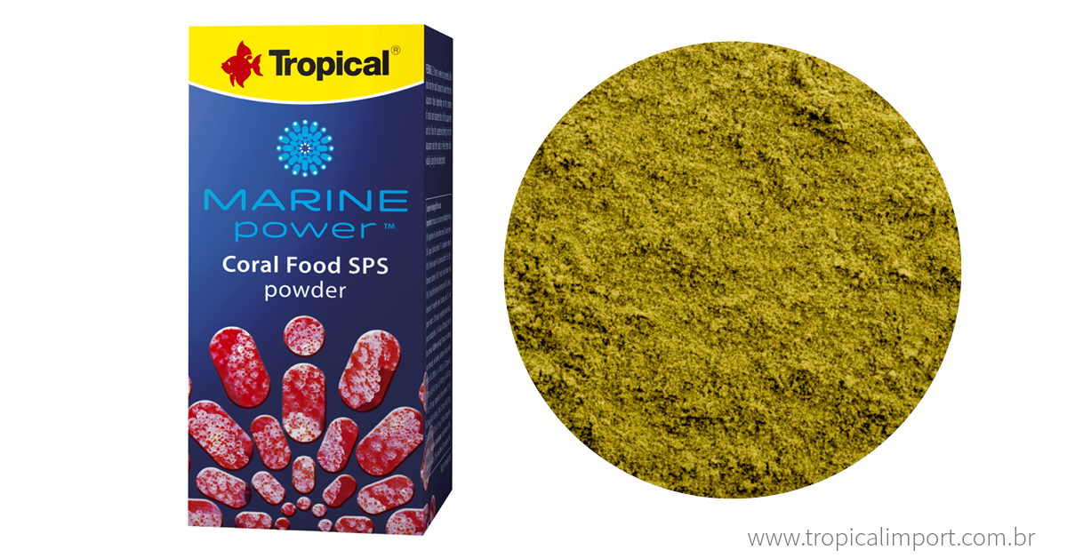 Marine Power Coral Food Sps Powder