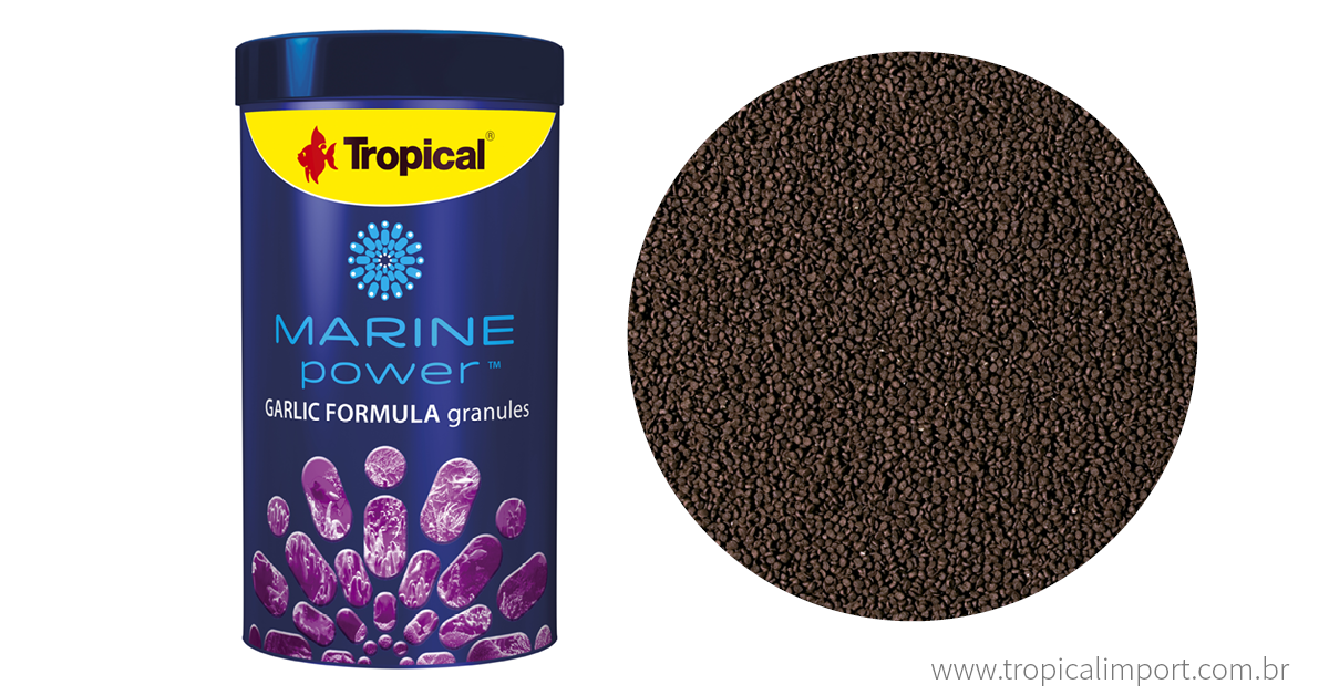 Marine Power Garlic Formula Granules