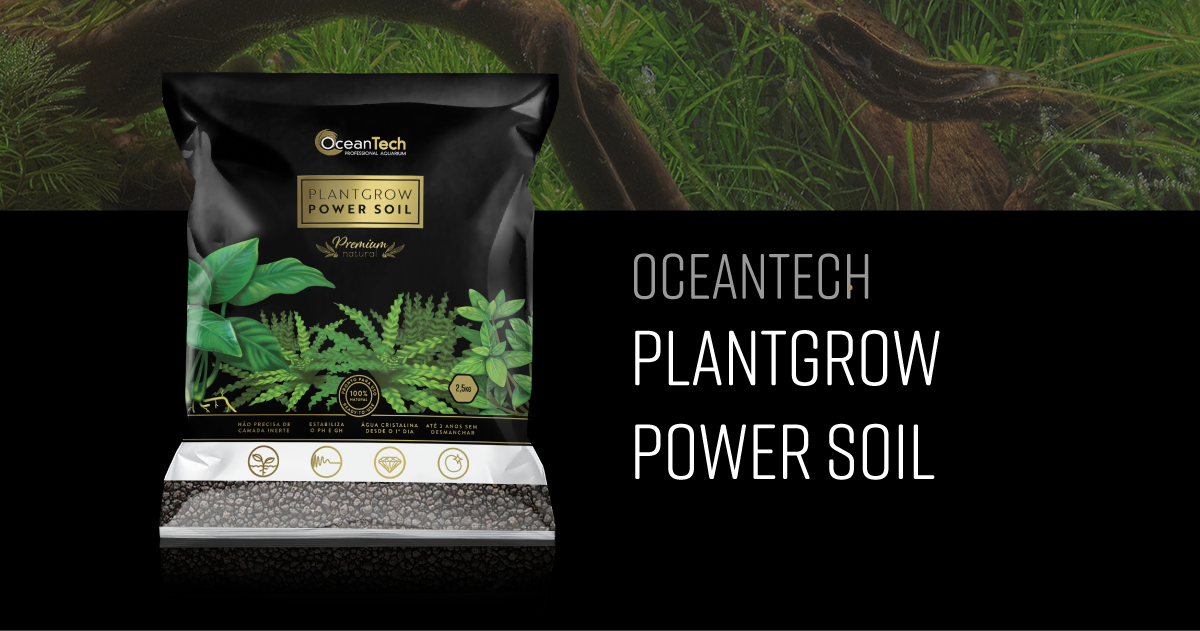 Substrato fértil Plant Grow Power Soil
